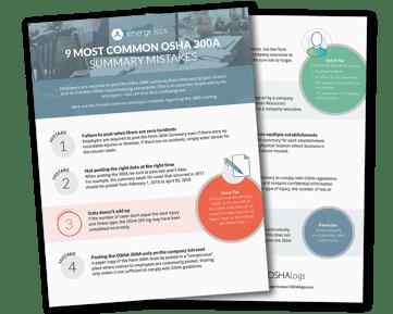 9 Most Common Osha 300A Summary Mistakes